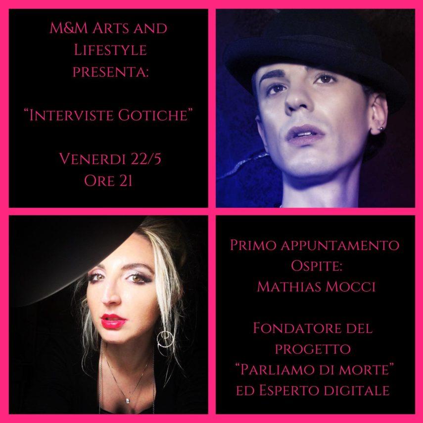 Intervista Gotica M&M Arts and Lifestyle