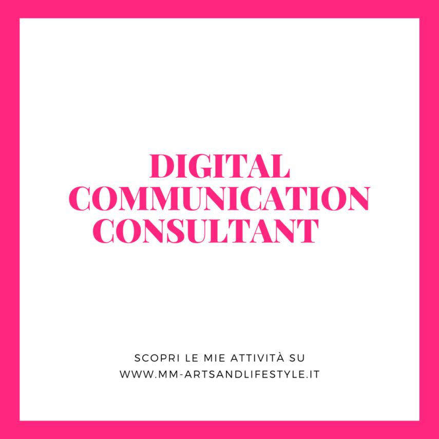 digital communication consultant M&M