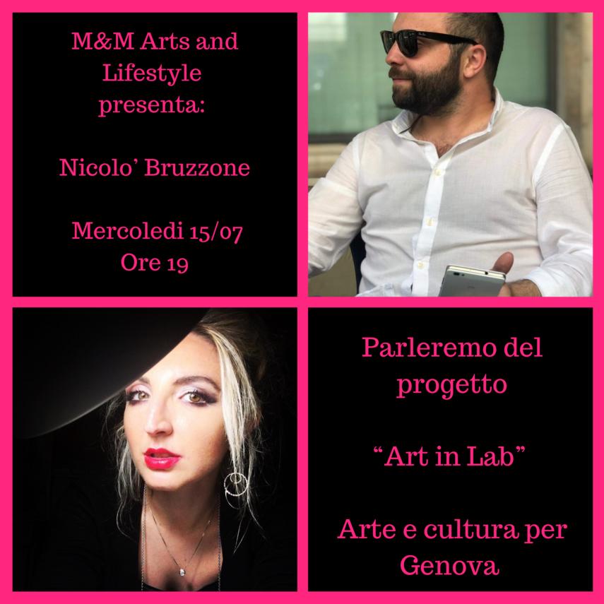 Intervista a Nicolò Bruzzone M&M