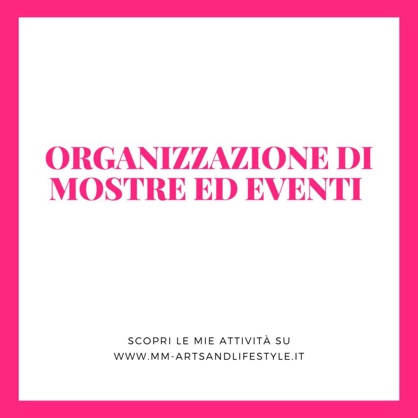 Organizzazione mostre ed eventi M&M